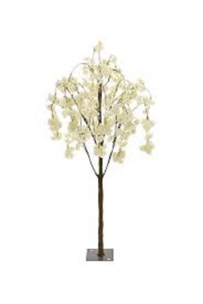 Picture of ARTIFICIAL WEEPING CHERRY TREE CREAM 1.4M