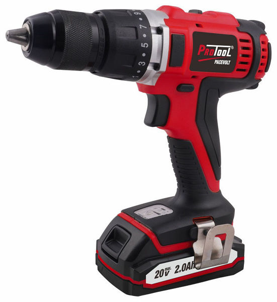 Picture of PROTOOL 20V CORDLESS DRILL  2 X 2AH BATTERY