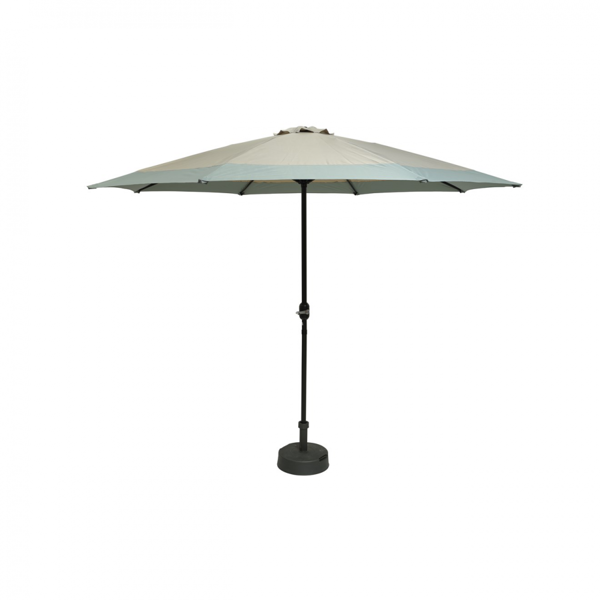Picture of PARASOL 3M TAUPE WITH GREEN EDGE
