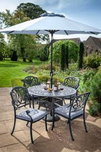 Picture of AMALFI C/A 4S ROUND GARDEN SET