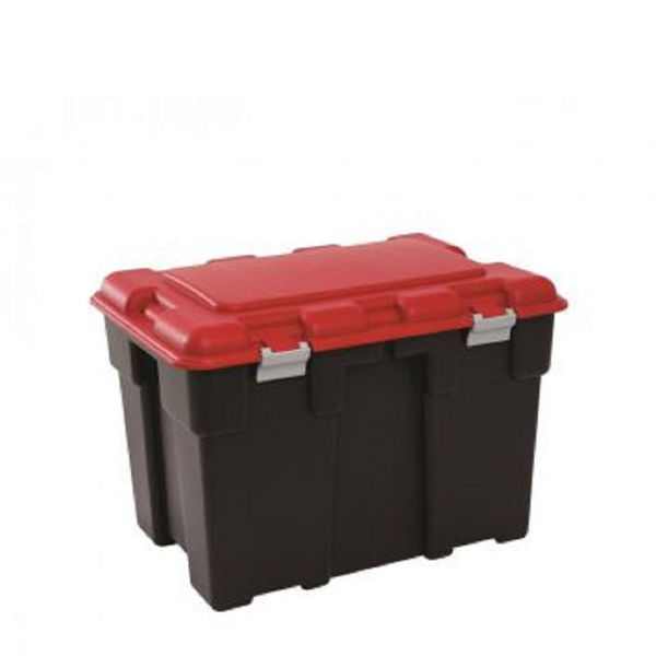 Picture of Explorer Extra Large Storage Trunk 185ltr - Black & Red