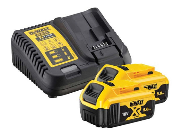 Picture of DEWALT DCB184B2C XR Charger & Battery Set