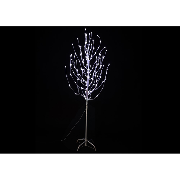 Picture of Jingles LED Birch Angel Tree White - 1.8M