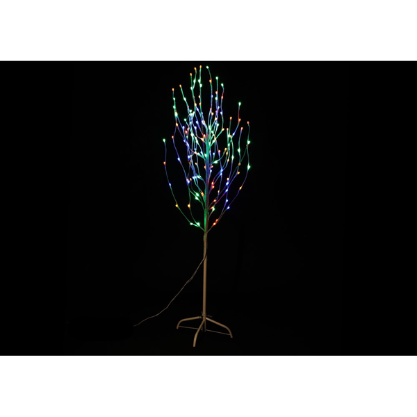 Picture of Jingles LED Birch Angel Tree Multi coloured - 1.8M