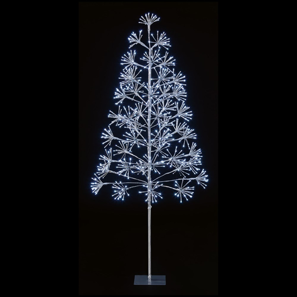 Picture of LED SILVER SPARKLE TREE - 6FT