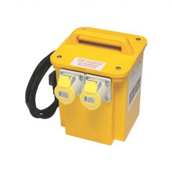 Picture of Safeline 3.3Kva Twin Outlet Transformer with 1.6 Kva Rating