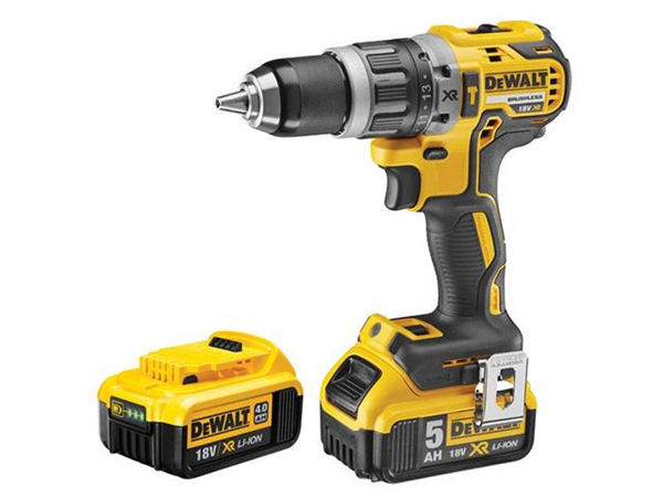 Picture of DEWALT 18V 2 SPEED COMBI DRILL WITH  2 BATTERYS