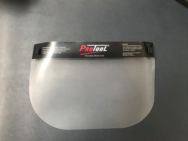 Picture of PROTOOL CLEAR FACE SHIELD