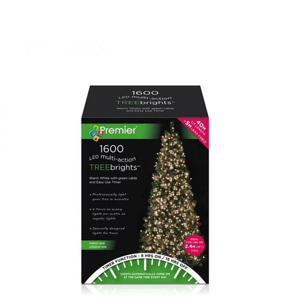 Picture of 1600  LED MULTI - ACTION TREEBRIGHTS WITH TIMER - WARM WHITE