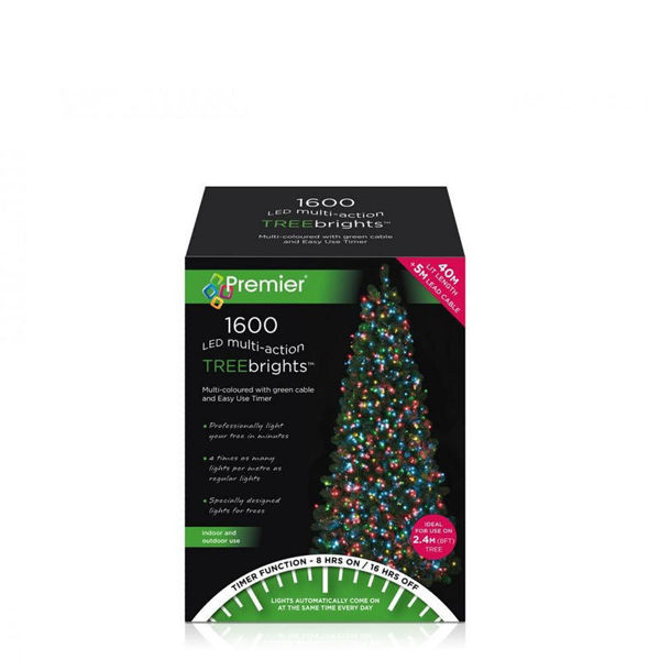 Picture of 1600  LED MULTI - ACTION TREEBRIGHTS WITH TIMER - MULTI COLOURED
