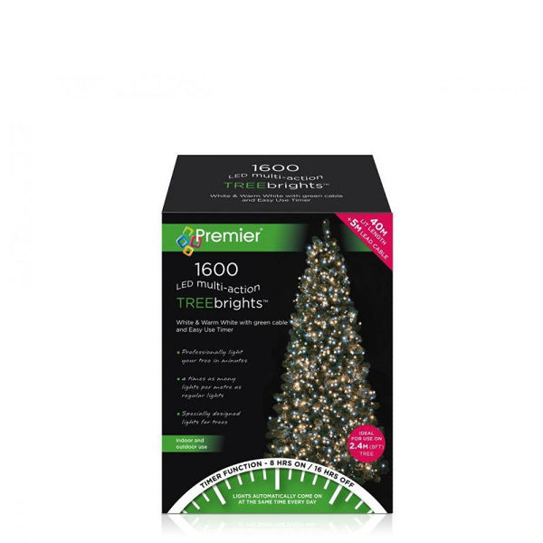 Picture of 1600  LED MULTI - ACTION TREEBRIGHTS WITH TIMER - ICE WHITE/WARM WHITE