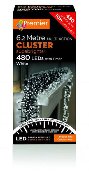 Picture of 480 MULTI ACTION CLUSTERBRIGHTS - WHITE