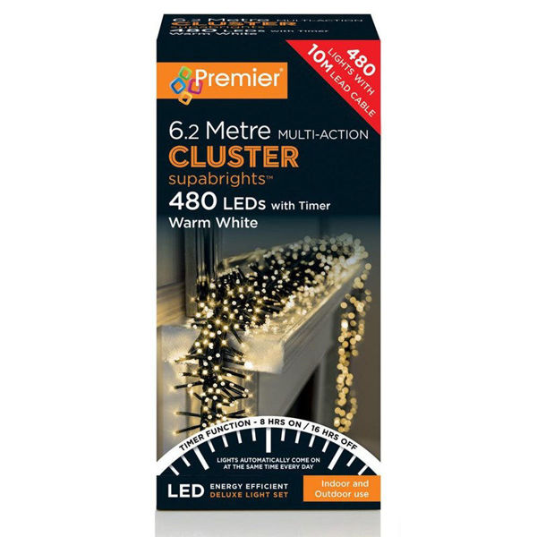 Picture of 480 MULTI ACTION CLUSTERBRIGHTS - WARM WHITE