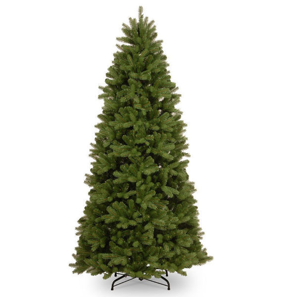 Picture of FEEL REAL NEWBERRY SPRUCE SLIM CHRISTMAS TREE - 7.5FT