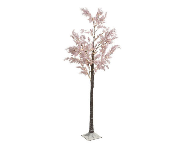 Picture of MIRCO LED PINK FLOWER TREE - 6FT