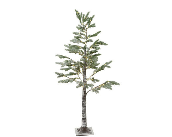 Picture of MIRCO LED OINE TREE WITH SNOW - 6FT