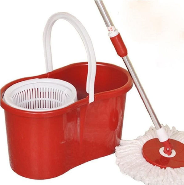 Picture of SPINNING MOP WITH 2 MOP HEADS