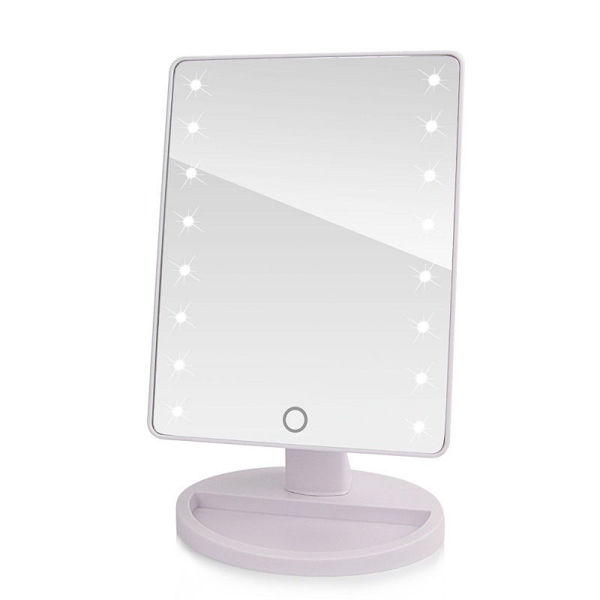 Picture of 16 LED TOUCH VANITY MIRROR—WHITE