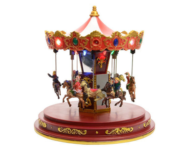 Picture of LED CHRISTMAS CAROUSEL - 24.5CM