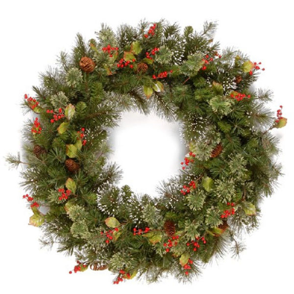 Picture of 60CM WINTRY PINE WREATH