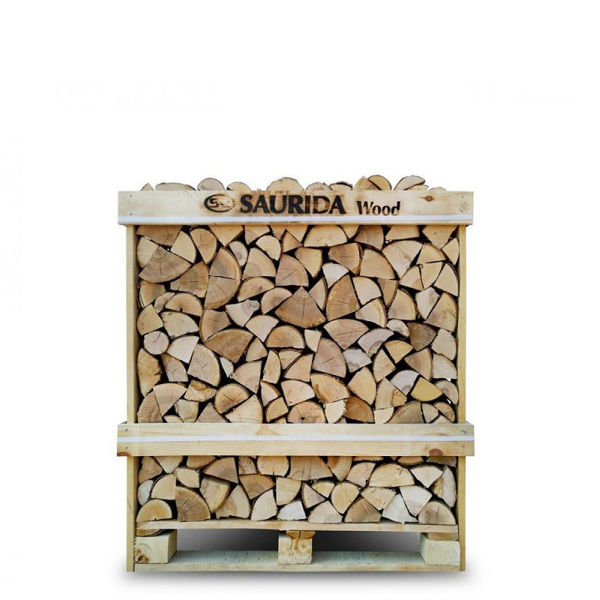Picture of SAURIDA KILN DRIED BIRCH FIREWOOD CRATE 400KG