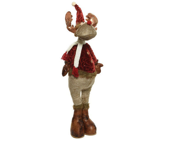Picture of PLUSH REINDEER - 44CM