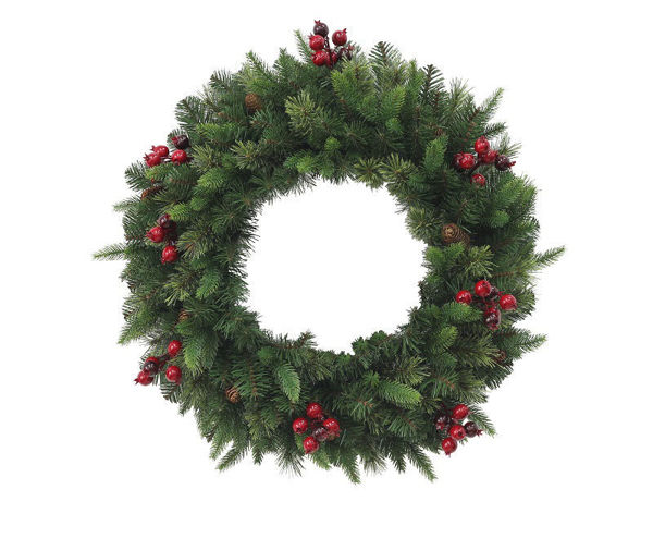 Picture of RUTLAND PINE WREATH - 90CM