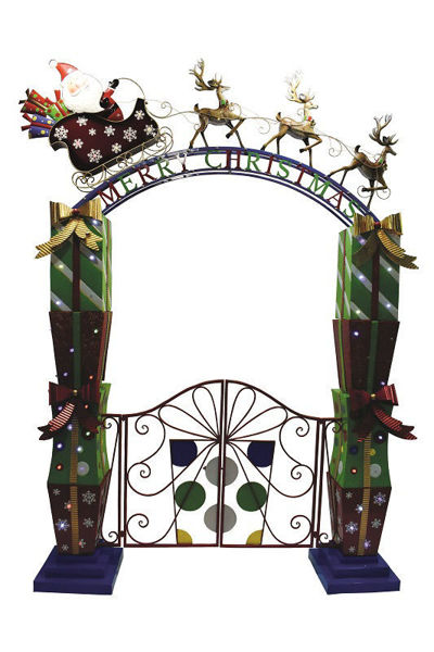 Picture of Metal Christmas Gates - 2.7m