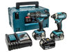 Picture of MAKITA 18V COMBI DRILL & IMPACT DRIVER TWIN PACK