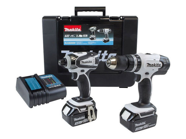 Picture of MAKITA 18V COMBI DRILL & BRUSHLESS IMPACT DRIVER TWIN PACK