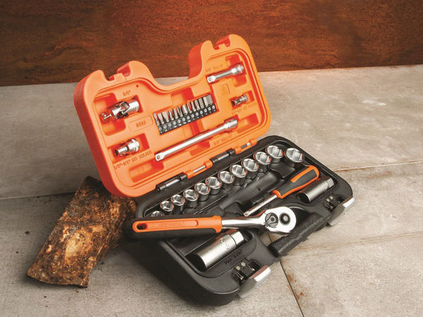 Picture of BAHCO SOCKET SET 34 PIECE & ACCESSORY SET