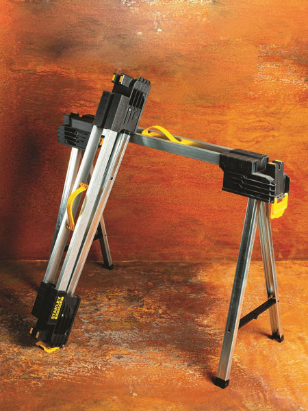 Picture of STANLEY FATMAX METAL SAWHORSE/TRESTLE TWIN PACK