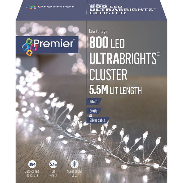 Picture of Premier 800 Low Voltage LED Ultrabrights Cluster - White