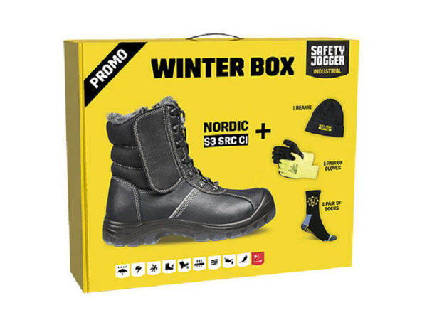 Picture of SAFETY JOGGER  - NORDIC WINTER BOX PACK  (SIZE 45)