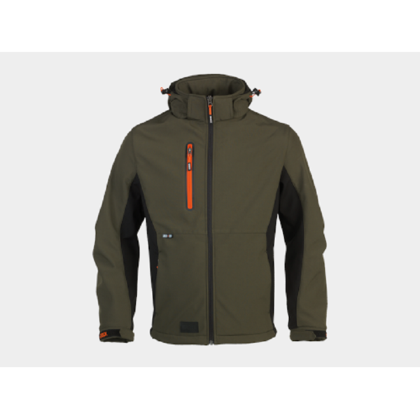 Picture of HEROCK TRYSTAN SOFTSHELL DARK KHAKI (M)