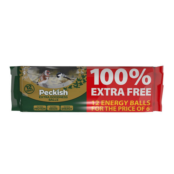 Picture of PECKISH EXTRA GOODNESS ENERGY BALL 6 + 6 FREE