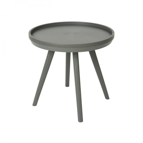 Picture of NEW YORK SIDE TABLE - ANTHRACITE