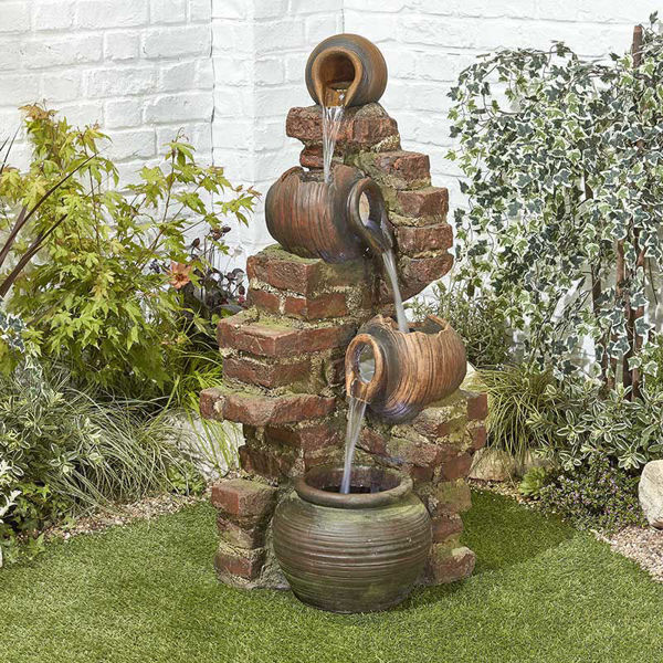 Picture of FLOWING JUGS - WATER FEATURE