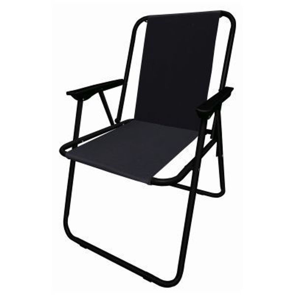 Picture of FOLDING CAMP CHAIR - BLACK