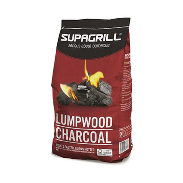 Picture of SUPAGRILL INSTANT CHARCOAL LUMPWOOD 1.7KG