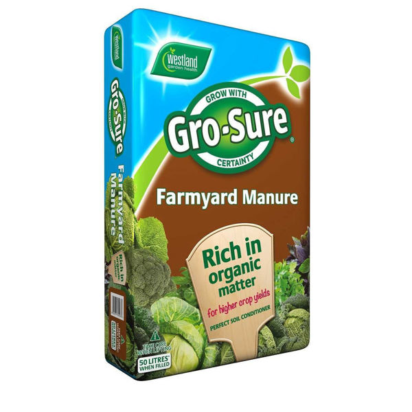 Picture of WESTLAND 50LT GRO-SURE FARMYARD MANURE