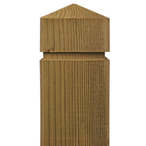 Picture of SHAPED DECKING POSTS 95 x 95 X 1.8MT