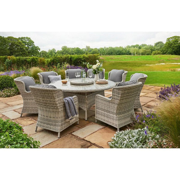 Picture of EDEN ROSE 8 SEATER OVAL RATTAN FURNITURE SET