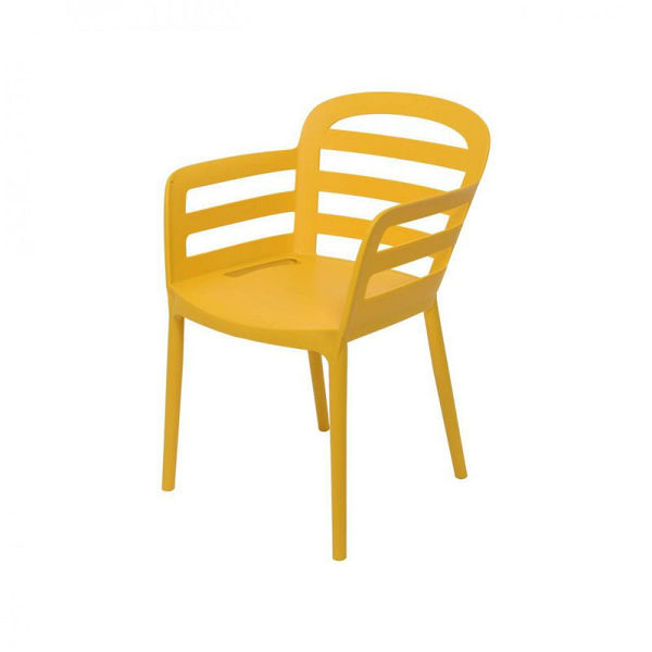 Picture of NEW YORK DINING CHAIR - MUSTARD
