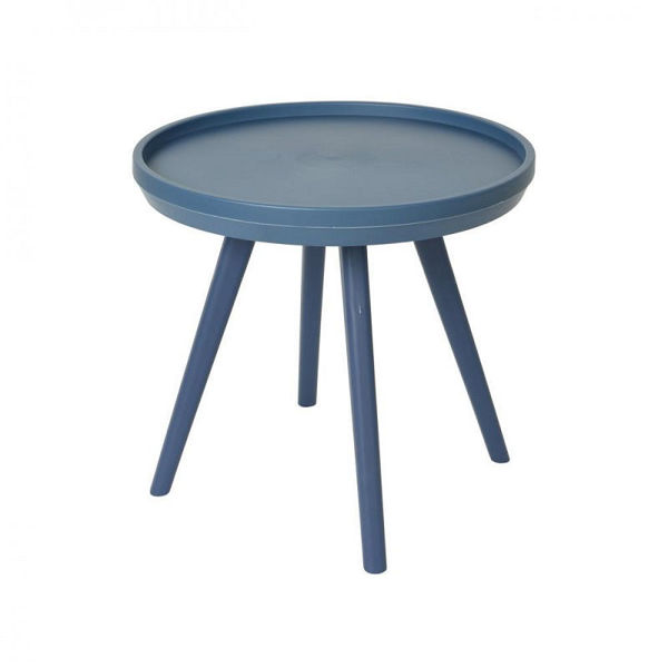 Picture of NEW YORK SIDE TABLE - NAVY