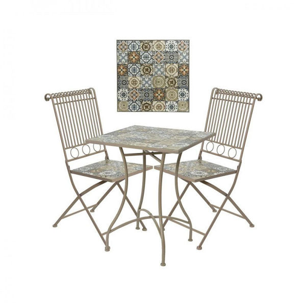 Picture of VENICE MOSAIC BISTRO SET