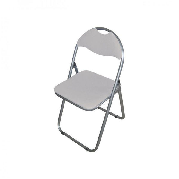 Picture of FOLDING CHAIR GREY