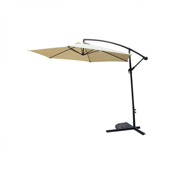Picture of CANTILEVER PARASOL BEIGE - 3METER