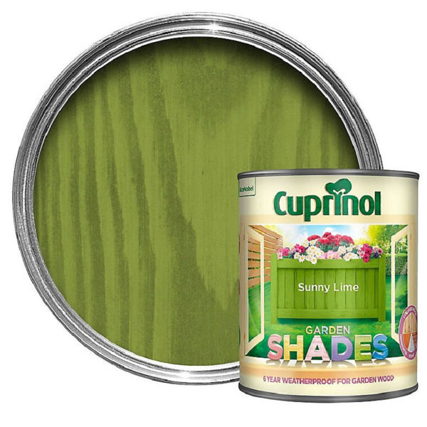 Picture of CUPRINOL GARDEN SHADES SUNNY LIME 1LT
