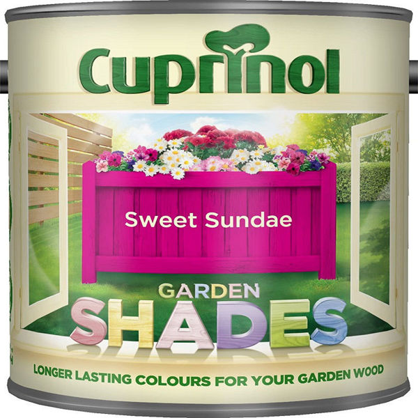 Picture of CUPRINOL GARDEN SHADES SWEET SUNDAE 1LT